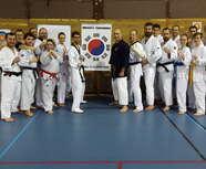 Echange Aikibudo - Taekwondo (février 2016)